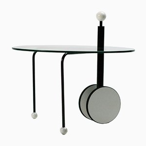 Vintage Postmodern Side Table by Michele De Lucchi for Memphis
