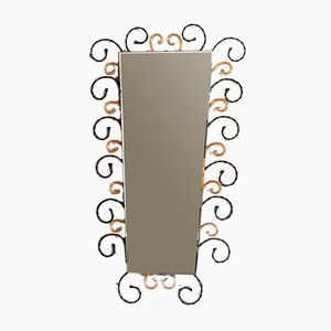 Mirror in Wrought Iron, 1960s