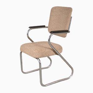 Chaise de Bureau Semi-Flottante par Paul Schuitema pour Fana Rotterdam, 1950s