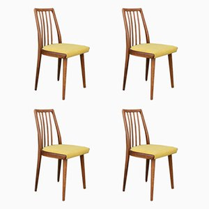 Czech Dining Chairs from TON, 1960s, Set of 4