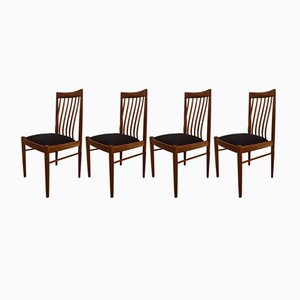 Teak Dining Chairs by H.W. Klein for Bramin, 1960s, Set of 4