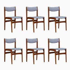 Mid-Century Danish Teak Chairs, Set of 6