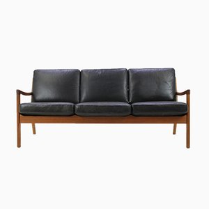 Vintage Model 166 Teak Senator Sofa by Ole Wanscher for Cado