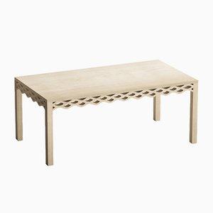 Tavolo in legno di frassino di Mario Alessiani per Dialetto Design