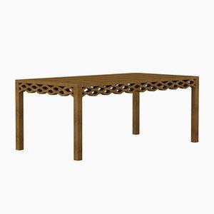 Walnut Plank Tisch von Mario Alessiani für Dialetto Design
