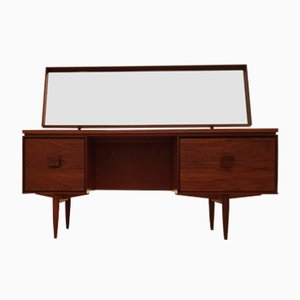 Danish Large Teak & Afromosia Dressing Table by Ib Kofod-Larsen for G-Plan, 1960s