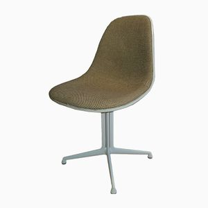 Mid-Century Side Chair with La Fonda Base by Charles & Ray Eames for Hermann Miller