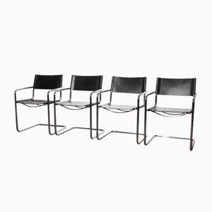 Esszimmerstühle von Matteo Grassi, 1970er, 4er Set