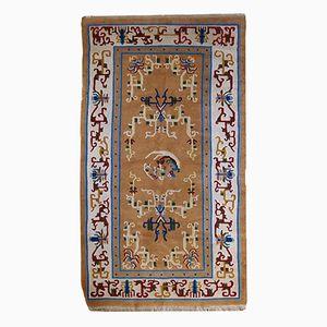 Handgeknüpfter Chinesischer Vintage Teppich, 1960er