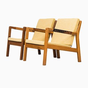 Scandinavian Trienna Easy Chairs by Carl Gustaf Hiort af Ornäs, 1960s, Set of 2