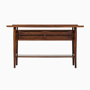 Mid-Century Rosewood Console Table by Arne Vodder for Sibast, 1960s