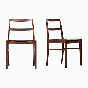 Mid-Century Dining Chairs by Arne Vodder for Sibast Møbelfabrik, 1950s, Set of 4