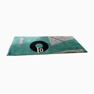 Meeresblauer Teppich von Eileen Gray für Liz Boa, 1970er
