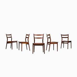 Model 59 Dining Chairs by Helge Sibast for Sibast Møbelfabrik,1958, Set of 6