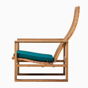 Vintage Armlehnstuhl von Børge Mogensen für Fredericia, 1950er