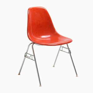 Vintage Red DSS Chair by Charles & Ray Eames for Herman Miller