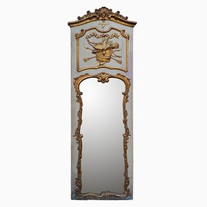 18th Century Hand-Carved and Gilded Rococo Mirror