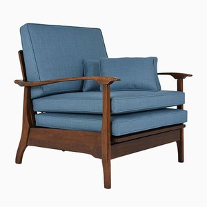 Mid-Century Reclining Lounge Chair, 1960s