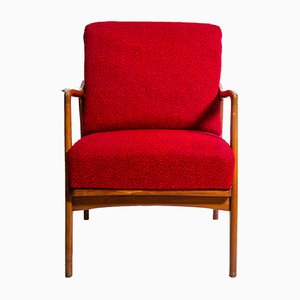 Poltrona rossa, anni '60