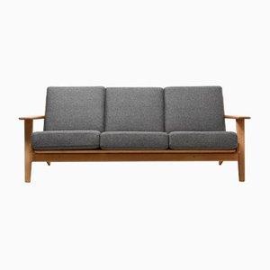 Vintage GE-290 3-Seater Sofa by Hans J. Wegner for Getama