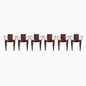 Louis 20 Chairs by Philippe Starck for Vitra, 1990s, Set of 6