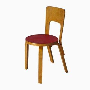 Model 66 Side Chair by Alvar Aalto for Artek
