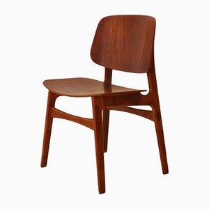 155 Chair by Børge Mogensen for Søborg Møbelfabrik, 1950s