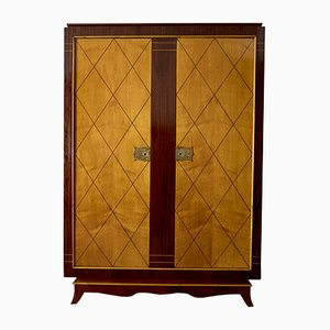 French Art deco Armoire, 1940s