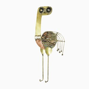 Brutalist Ostrich by Jarc, 1960s