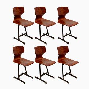Beistellstühle von Flötotto, 1970er, 6er Set