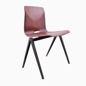 Vintage S22 Stuhl in Rot von Galvanitas