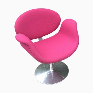 Small Pink Tulip Chair by Pierre Paulin for Artifort, 1970s