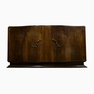 Curved Art Deco Sideboard, 1930s