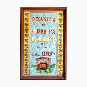 Affiche Vin Vintage Art Déco