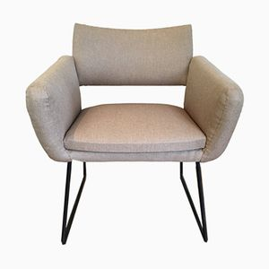 Model 763 Armchairs by Joseph André Motte for Steiner, 1950s, Set of 2