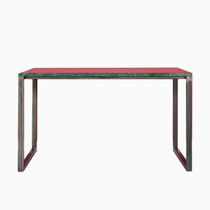 ENNO | Serpentinite & Stainless Steel Table by Johanenlies, 2017