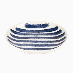 Indigo Rain Pasta Bowl by Faye Toogood