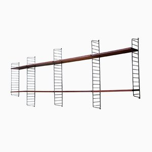 Vintage String Shelf Rack System by Nisse Strinning for String, 1960s