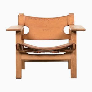 Vintage Spanish Chair by Børge Mogensen for Fredericia Stolefabrik, 1950s