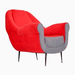 Vintage Lounge Chair by Gigi Radice for Minotti