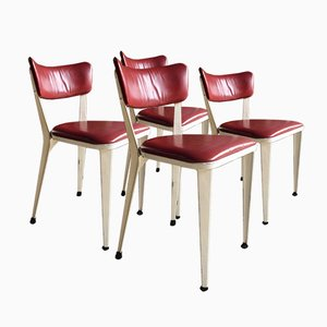 Mid Century BA3 Dining Chairs By Ernest Race, 1950s, Set Of 4