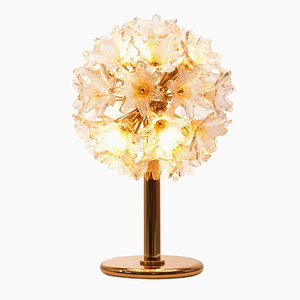 Mid-Century Murano Flower Lamp by Paolo Venini for VeArt