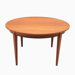 Danish Model 55 Teak Dining Table from Omann Jun