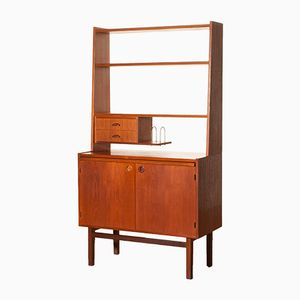 Teak Secretaire from Hovmantorp, 1950s