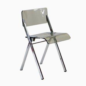 Chaise Pliable en Plexiglas, 1970s