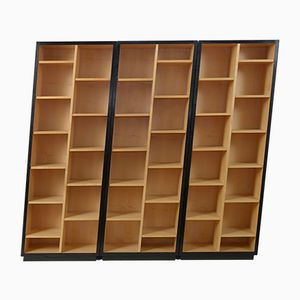 Vintage Asymmetric Bookcases by Christian de Portzemparc, Set of 3