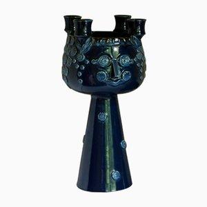 Kleiner Mid-Century Kerzenhalter mit 2 Leuchten von Björn Wiinblad für Rosenthal