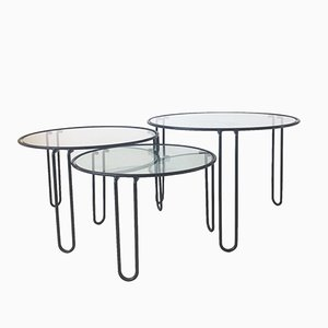 Mid-Century Coffee Tables, 1960s, Set of 3