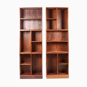 Danish Rosewood Modular Bookshelf, 1960s, Set of 6