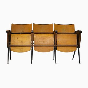 Italian Folding Cinema Seats, 1950s